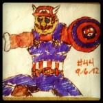 Captain Mario - Nintendo Avengers