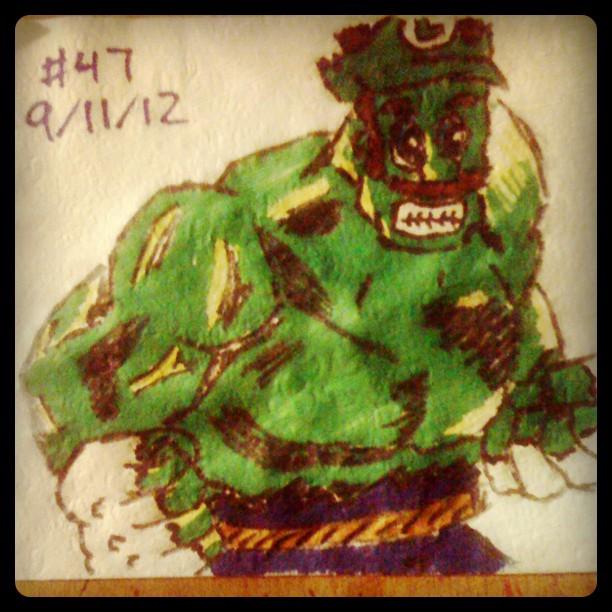 Incredib-Luigi Hulk - Nintendo Avengers