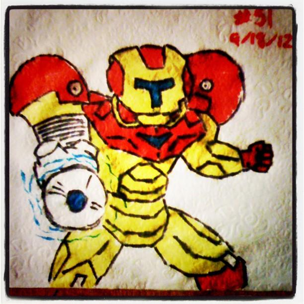 Iron Samus - Nintendo Avengers
