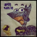 Phineas Flynn as Batman - Phineas n Ferb Batman