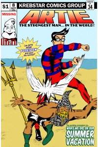 Krebstar Comics Group presents Artie the Strongest Man in the World