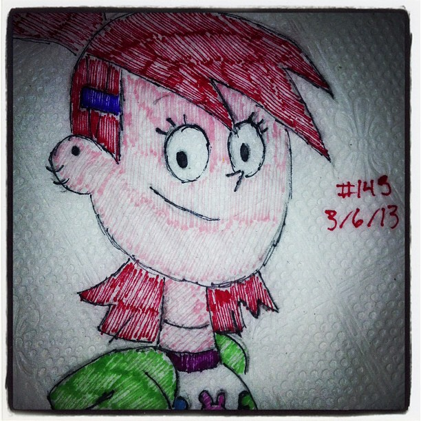 napkin_art_145___frankie___foster_s_home_by_peterparkerpa-d61k174