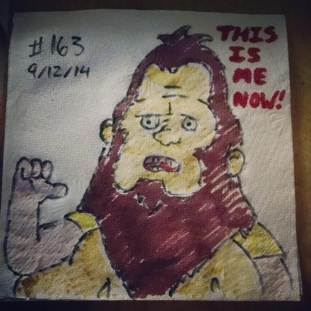 beefsquatch napkinart
