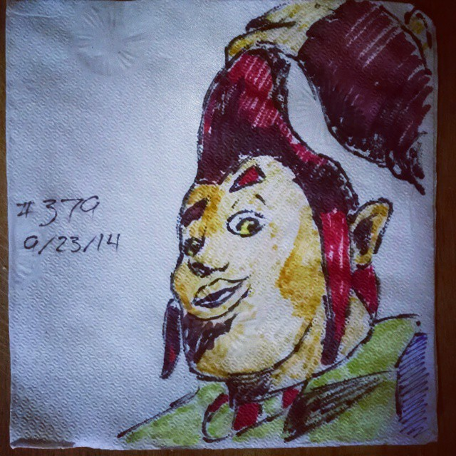 legend of zelda groose napkinart